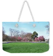 Tulips In The Park. Weekender Tote Bag