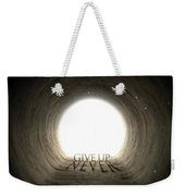 Tunnel Text And Shadow Concept Weekender Tote Bag