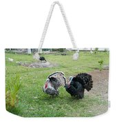 Turkeys In The Yard At Laguna Guerrero Weekender Tote Bag