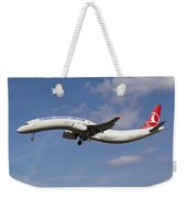 Turkish Delight Airlines Airbus A321 Weekender Tote Bag