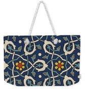 Turkish Textile Pattern Weekender Tote Bag