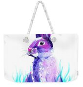 Turquoise And The Hare  Weekender Tote Bag