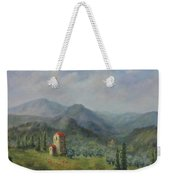 Tuscany Italy Olive Groves Weekender Tote Bag by Katalin Luczay