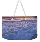 Twilight At Gale Beach In Albufeira Weekender Tote Bag