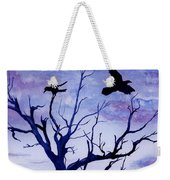 Twilight Flight Weekender Tote Bag