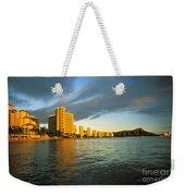 Twilight Waikiki Weekender Tote Bag