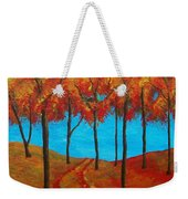 Twilight Woods Weekender Tote Bag