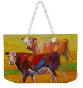 Two Cows Weekender Tote Bag