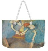 Two Dancers At Rest Weekender Tote Bag
