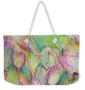 Two Lips Weekender Tote Bag