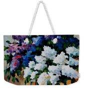 Two Spring Colors Weekender Tote Bag