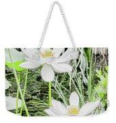 Two Water-lilies Weekender Tote Bag