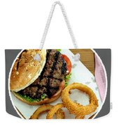 twoanyone Food Delivery  Online Takeout Shakey's Delivery Weekender Tote Bag