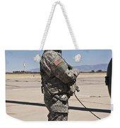 Uh-60 Black Hawk Crew Chief Weekender Tote Bag
