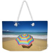 Umbrella On Beach Weekender Tote Bag