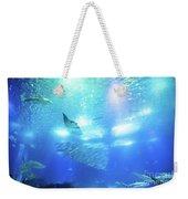Undersea Deep Background Weekender Tote Bag