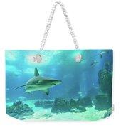 Underwater White Shark Weekender Tote Bag