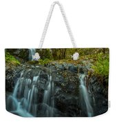 Upper Boulder Creek Falls Weekender Tote Bag