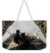 U.s. Army Green Berets Wait To Jump Weekender Tote Bag