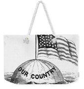 U.s. Flag, 19th Century Weekender Tote Bag