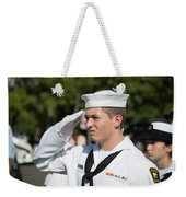 Us Naval Sea Cadet Corps - Gulf Eagle Division, Cape Coral, Florida Weekender Tote Bag