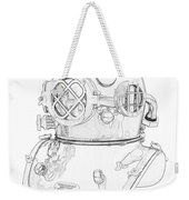 Us Navy Diving Helmet Mark V Weekender Tote Bag