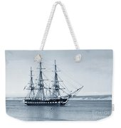 Uss Constitution Old Ironsides In Monterey Bay Oct. 1933 Weekender Tote Bag