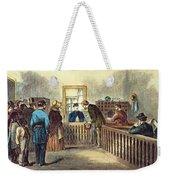 Va: Freedmens Bureau 1866 Weekender Tote Bag