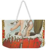 Valentine Design Six Weekender Tote Bag