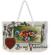 Valentines Day Card Weekender Tote Bag