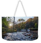 Valley Creek Waterfall - Valley Forge Pa Weekender Tote Bag