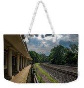 Valley Forge Train Station  Weekender Tote Bag