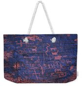 Valley Of Fire Petroglyphs Weekender Tote Bag