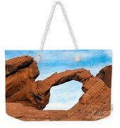 Valley Of Fire State Park Arch Rock Weekender Tote Bag