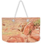 Valley Of Fire's Wash 3 Weekender Tote Bag