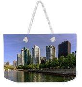 Waterfront Of Vancouver, Canada Weekender Tote Bag