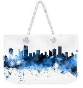 Vancouver Canada Skyline Panoramic Weekender Tote Bag