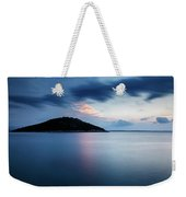 Veli Osir Island At Dawn, Losinj Island, Croatia. Weekender Tote Bag