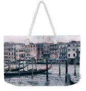Venice Channels Weekender Tote Bag