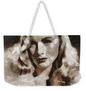 Veronica Lake Vintage Hollywood Actress Weekender Tote Bag