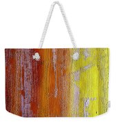 Vertical Interfusion Weekender Tote Bag