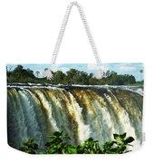 Victoria Falls Weekender Tote Bag