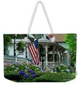 Victorian House And Garden. Weekender Tote Bag