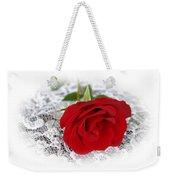 Victorian Rose Weekender Tote Bag