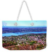 View From The Top Weekender Tote Bag