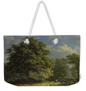 View In The Bentheim Forest, George Andries Roth, 1870 Weekender Tote Bag