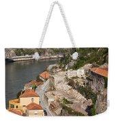 Vila Nova De Gaia And Porto In Portugal Weekender Tote Bag