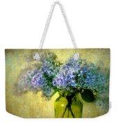 Vintage Lilac Weekender Tote Bag by Jessica Jenney