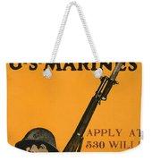 Vintage Recruitment Poster Weekender Tote Bag