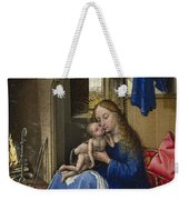 Virgin And Child In An Interior Weekender Tote Bag